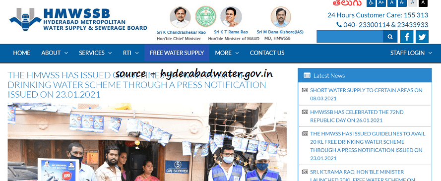 Hyd MC Free Water Guidelines