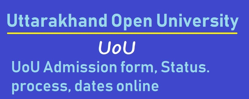 UoU Online Admission winter summer