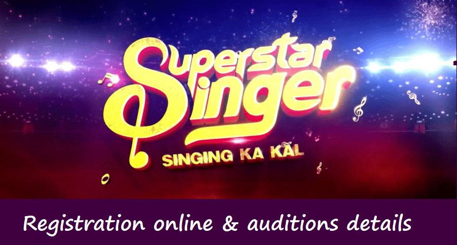 Superstar Singer Season 2 Auditions 2021