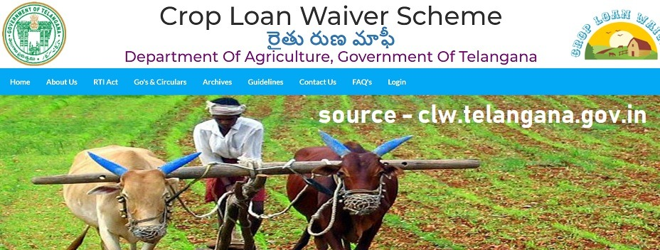 Telangana Crop Loan Waiver List 2021 pdf
